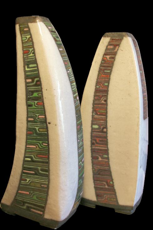 Des historischen Keramiken Heckklinken Propan-Tank zum Grillen